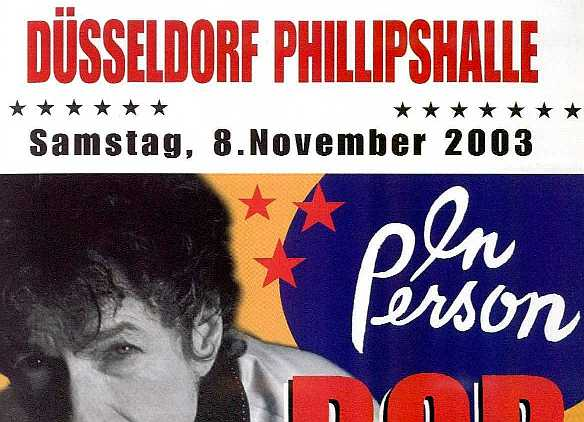 top of souvenier poster, with incorrect spelling of 'Philipshalle'